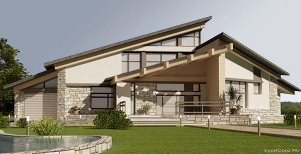 Неблагоприятный фен-шуй крыши дома